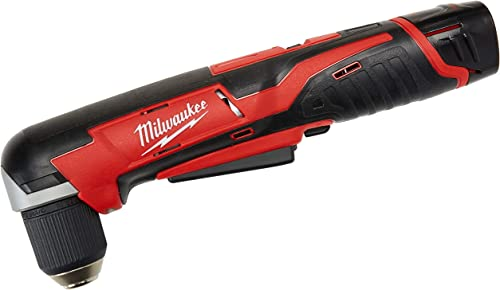Milwaukee 2415-21 M12 12V 3 8 Cordless Right Angle Drill Driver Kit