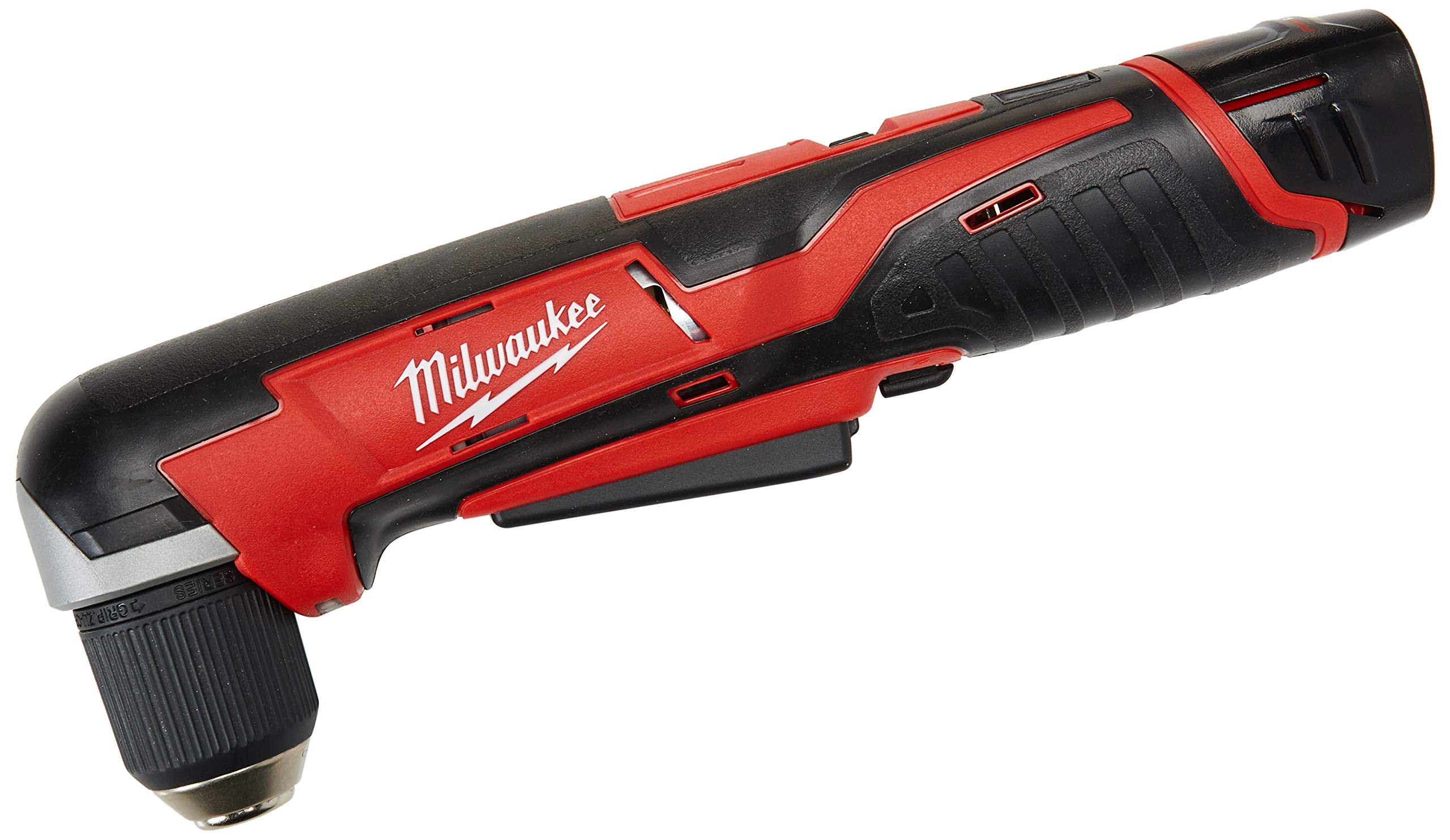 Milwaukee 2415-21 M12 12V 3/8'' Cordless Right Angle Drill/Driver Kit by Milwaukee