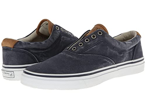 1b6244521e2 Image Unavailable. Image not available for. Color  Sperry Men s Striper LL  CVO Fashion Sneaker