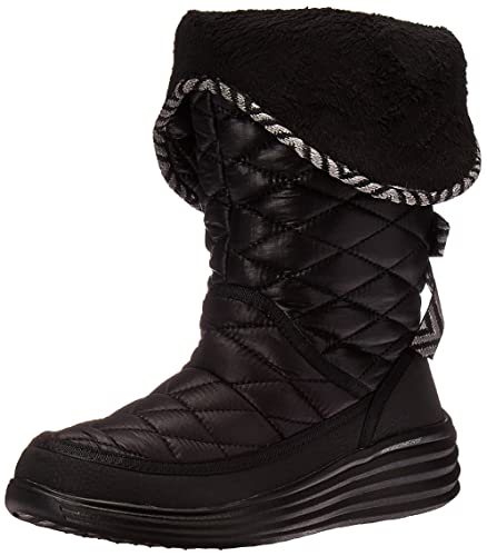 0c9a38ab6581 Skechers Women s Halo-Ring-Quilted Nylon Winter Boot
