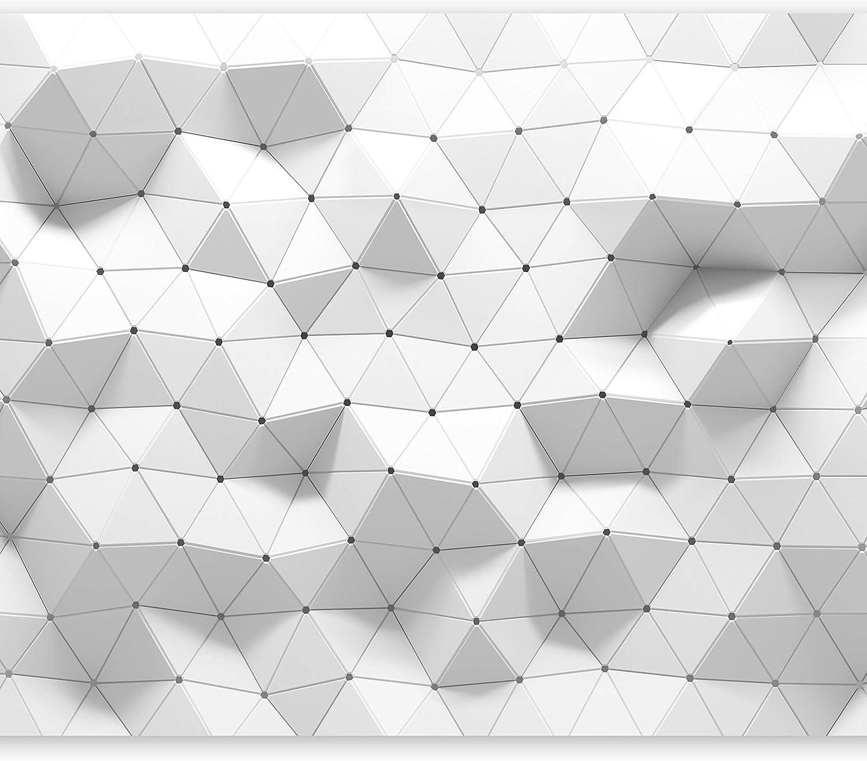 murando Papier peint intiss/é 100x70 cm D/écoration Murale XXL Poster Tableaux Muraux Tapisserie Photo Trompe loeil 3D Geometrique Abstrait f-B-0122-a-a