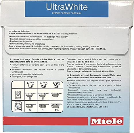 Miele Care Collection ultrawhite detergente: Amazon.es: Hogar