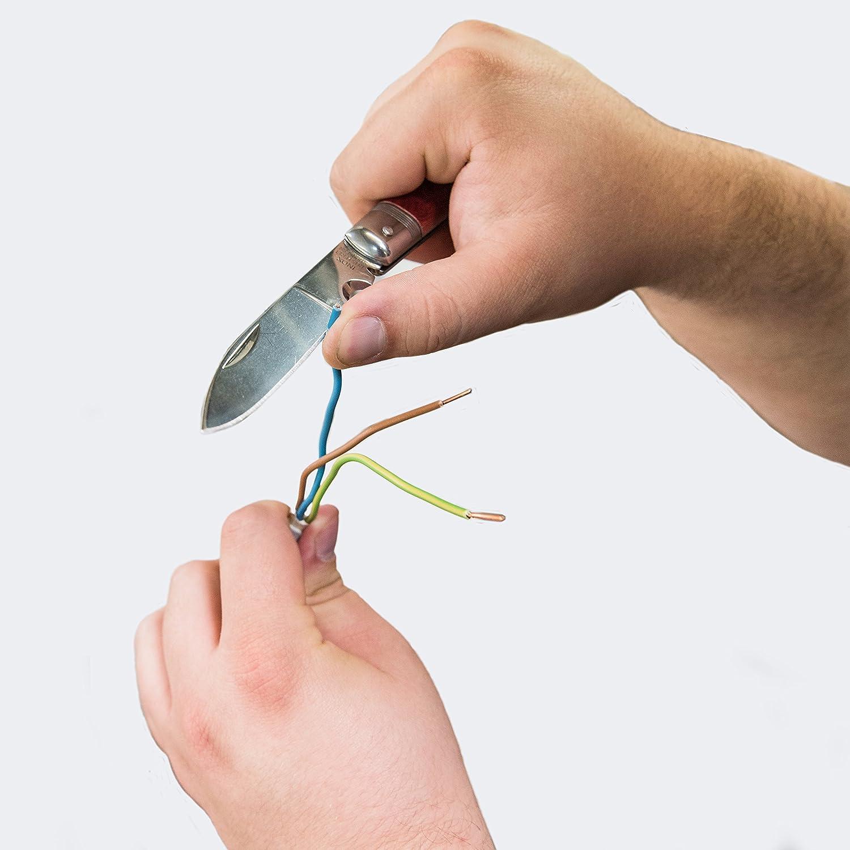 Abmantelungswerkzeug Abisoliermesser Abmantelungsmesser Kabelwerkzeug Abisolierer COXT185002 Entmantler Connex Kabelmesser