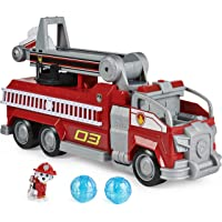 PAW Patrol, Marshall's Transforming Movie City Fire Truck with Extending Ladder, Lights, Sounds and Action Figure, Kids…