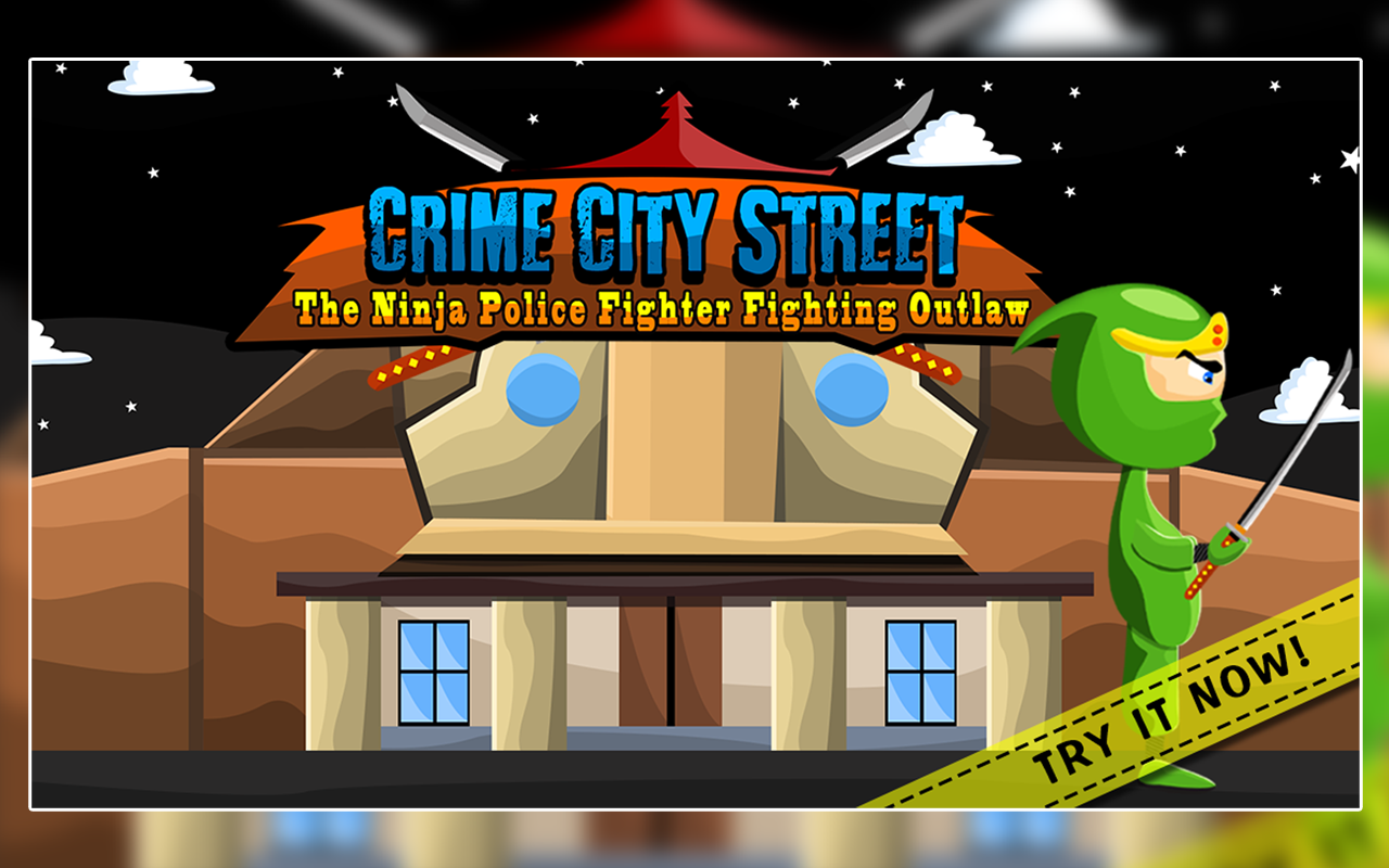 Crime City Street : The Ninja Police Fighter Fighting Outlaw ...