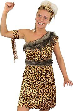 ILOVEFANCYDRESS - Disfraz de mujer cavernícola (vestido de ...
