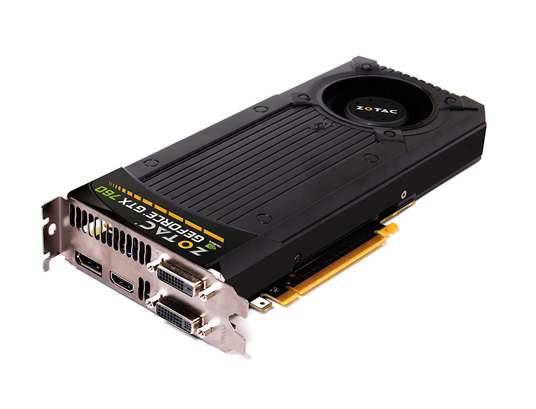 Zotac GeForce GTX 760 2GB - Tarjeta gráfica con GeForce GTX 760 (4096 x 2160 Pixeles, NVIDIA, 2048 MB, GDDR5-SDRAM, 256 bit), Negro