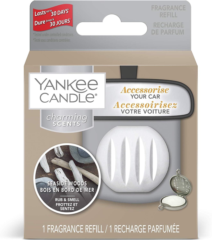 Yankee Candle Charming Scents Nachfüllpackung Für Autolufterfrischer Seaside Woods Auto