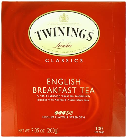 Twinings Tea, English Breakfast, 100 Count, 7.05 oz
