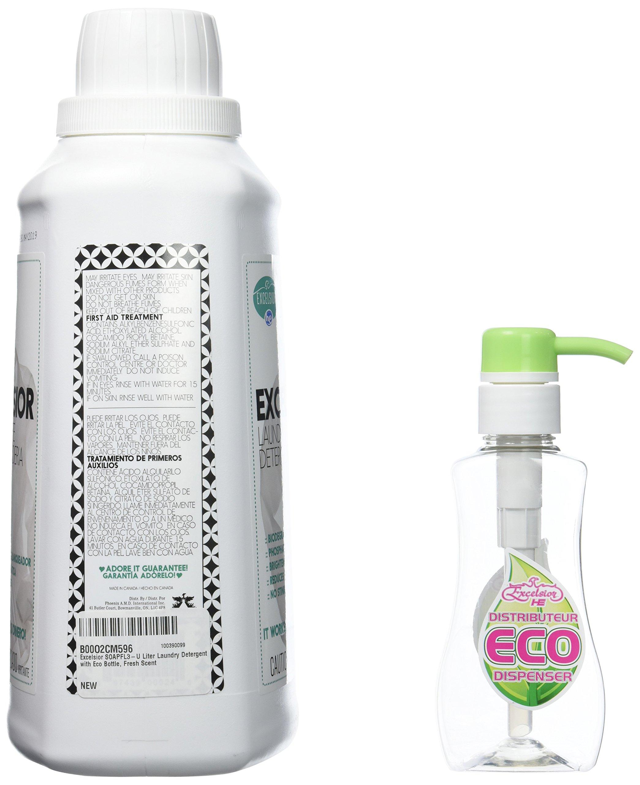 Excelsior Soapfl3 U Liter Laundry Detergent With Eco