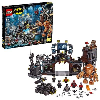 LEGO DC Batman Batcave Clayface Invasion 76122 Batman Toy Building Kit with Batman and Bruce Wayne Action Minifigures, Popular DC Superhero Toy (1037 Pieces): Toys & Games