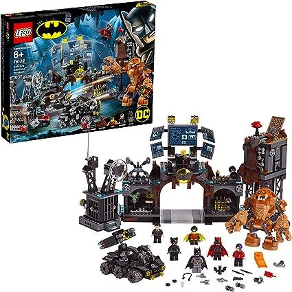 LEGO DC Batman Batcave Clayface Invasion 76122 Batman Toy Building Kit with Batman and Bruce Wayne Action Minifigures, Popular DC Superhero Toy, New ...