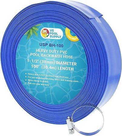 Amazon.com: EE. UU. Pool Supply Manguera de PVC azul ...