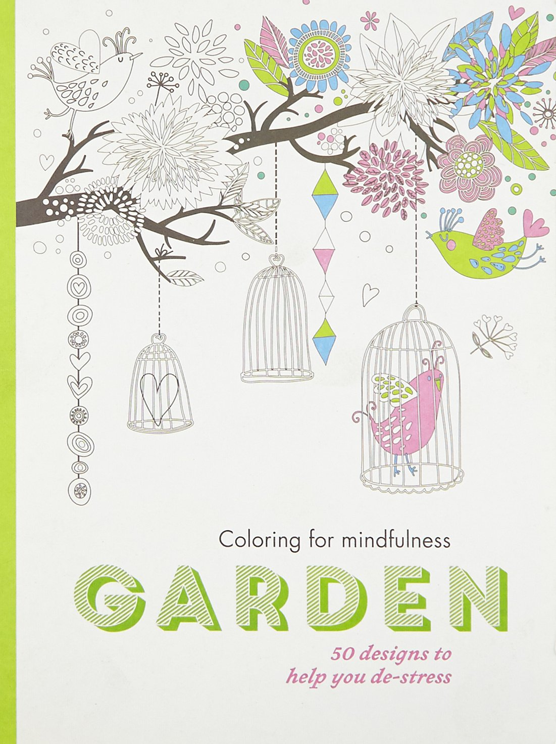 Amazon Garden Coloring For Mindfulness 9780600632603 Hamlyn Books