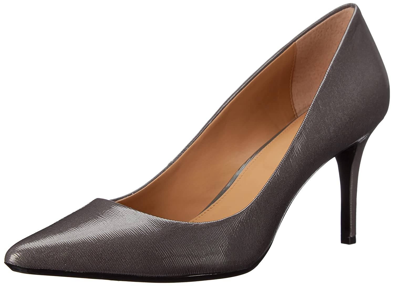 Calvin Klein Women's Gayle Pump B00X554ZIK 5 B(M) US|Shadow Grey