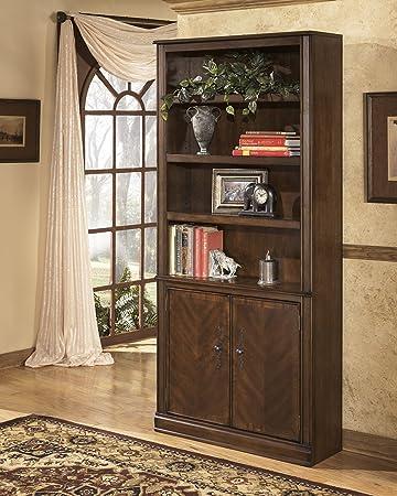 Amazon.com: Ashley Furniture Signature Design - Hamlyn Bookcase ...
