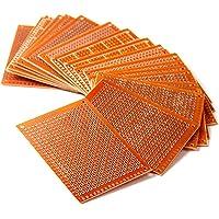 HiLetgo 20pcs 5x7cm Bakelite DIY Prototype Board PCB