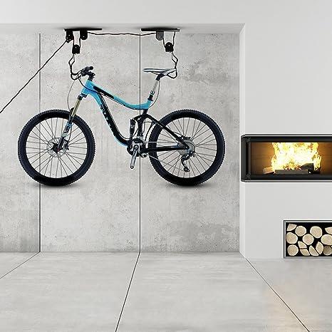 merssavo soporte bicicleta almacenamiento bicicleta techo garaje ...