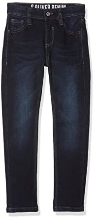 s.Oliver Junior Jungen Jeans 74.899.71.0512, Blau (Blue Denim Stretch 58z2 3cb40f470f