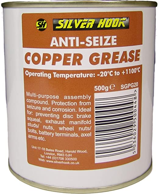 4 opinioni per Silverhook SGPG20 rame Grease, 500 g