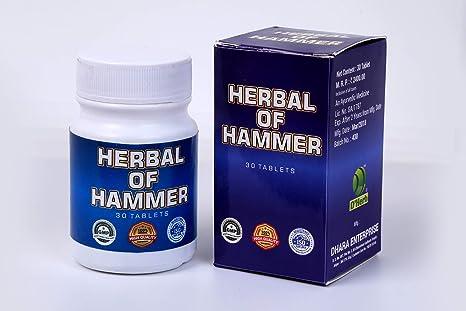 Dhara Herbal Hammer Tablet 30 Tablets - Pack of 2