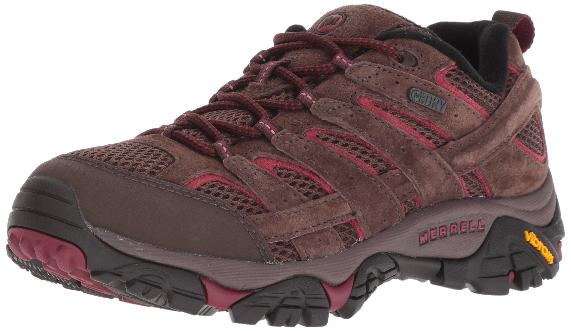 Merrell Women's Moab 2 Waterproof Sneaker, Espresso, 6.5 M US