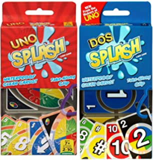 Amazon.com: Uno H2O To Go Card Game: Toys & Games