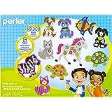 Perler Pet Parade Deluxe Fuse Bead Craft Activity Kit, 5020 pcs