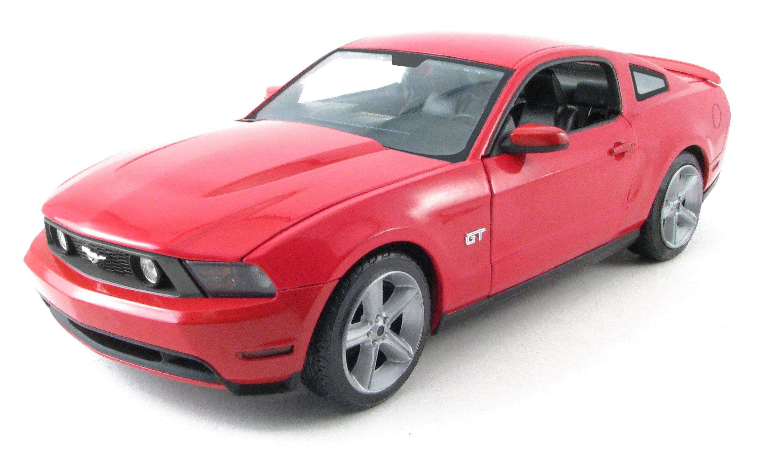1:18 2010 Ford Mustang GT Torch Red