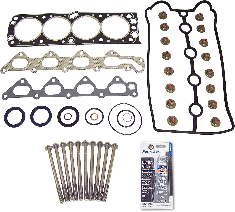 Head Gasket Set Bolt Kit Fits 02-03 Saturn Vue 3.0L V6 DOHC 24v ECOTEC