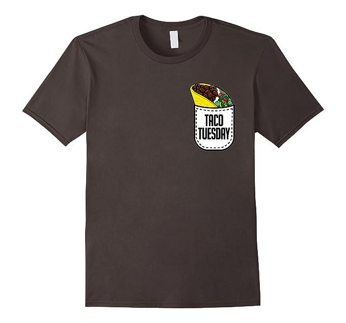 f209a4a10a Mens Taco Tuesday T-Shirt - Mexican Food Pocket Taco Tee Shirt 2XL Asphalt