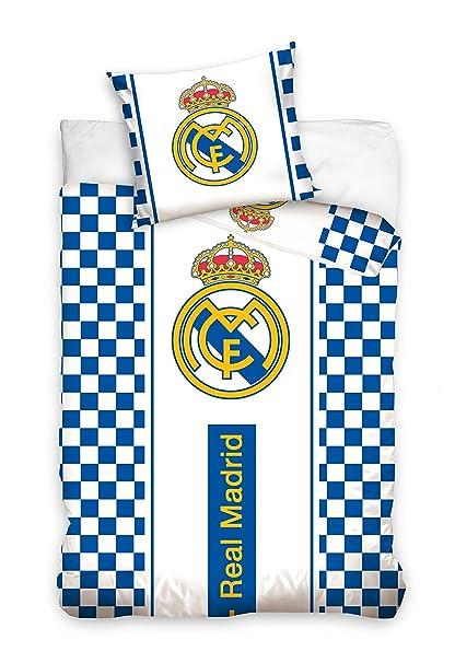 Funda Nordica Real Madrid Cama 90.Juego Funda Nordica Real Madrid Reversible 160 X 200 Cm Para Cama De 90 X 200 Cm Y Funda Cojin 70 X 80 Cm Para Cama 90 X 200 Nuevo