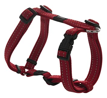 Reflective Adjustable Dog H Harness for Small to Medium Dogs ...