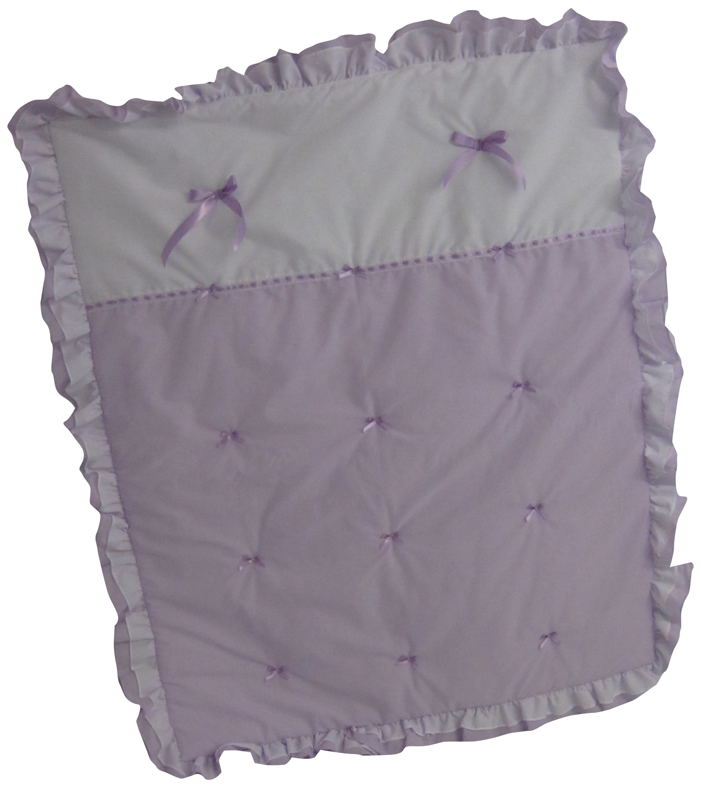 Baby Doll Bedding Regal Crib Comforter, Lavender