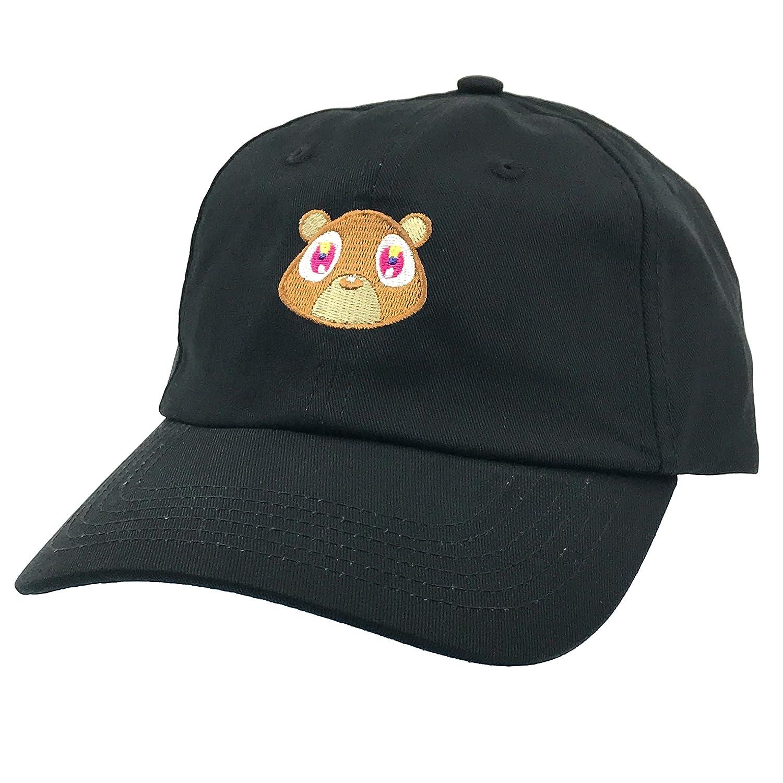 Generic Kanye West Bear Hat Dad Hat Strap Back Costume Head Men Women New  (Black Hat) at Amazon Men s Clothing store  f9a4c46a0cf