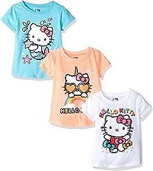 c453ca2f3 Hello Kitty Girls' 3 Pack T-Shirt