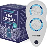 BRISON 2 Pack Ultrasonic Pest Reject Repeller - Plug in Electronic Non-Toxic Device - Electromagnetic and Ultrasound…