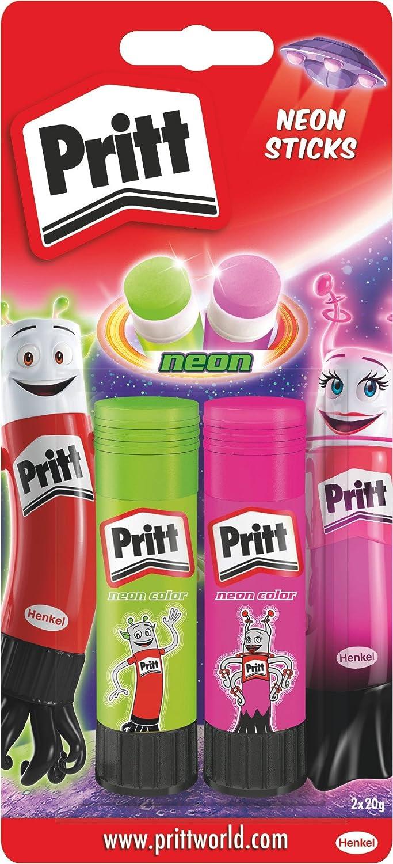Pritt ps2se de pegamento Pritt Stick 2Neon (Rosa/Verde Henkel