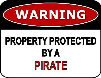 Amazon.com: Señal divertida de advertencia de propiedad ...