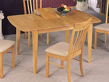 Genial Coaster Dinner Room Furniture Natural Finish Dining Table W/Butterfly Leaf