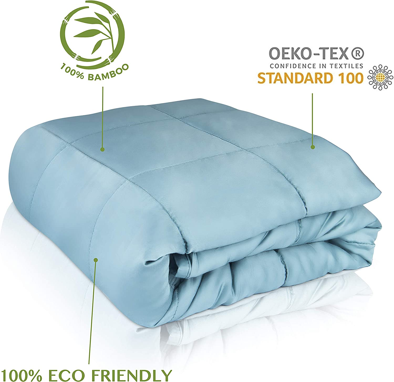 """CARMA Warm Weighted Blanket 20 lbs 