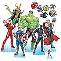 Star Cutouts Ltd TT016 Marvel Avengers (Animation/Cartoon) Table Top Pack Perfect for Parties, Weddings and Events…