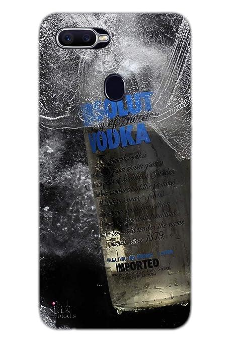 new concept 0d7b0 626f2 Jaz Deals Designer Vodka Hard Mobile Back Oppo F9 Cover: Amazon.in ...