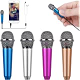 Uniwit Mini Portable Vocal/Instrument Microphone for Mobile Phone Laptop Notebook Apple iPhone Sumsung Android with Holder Cl