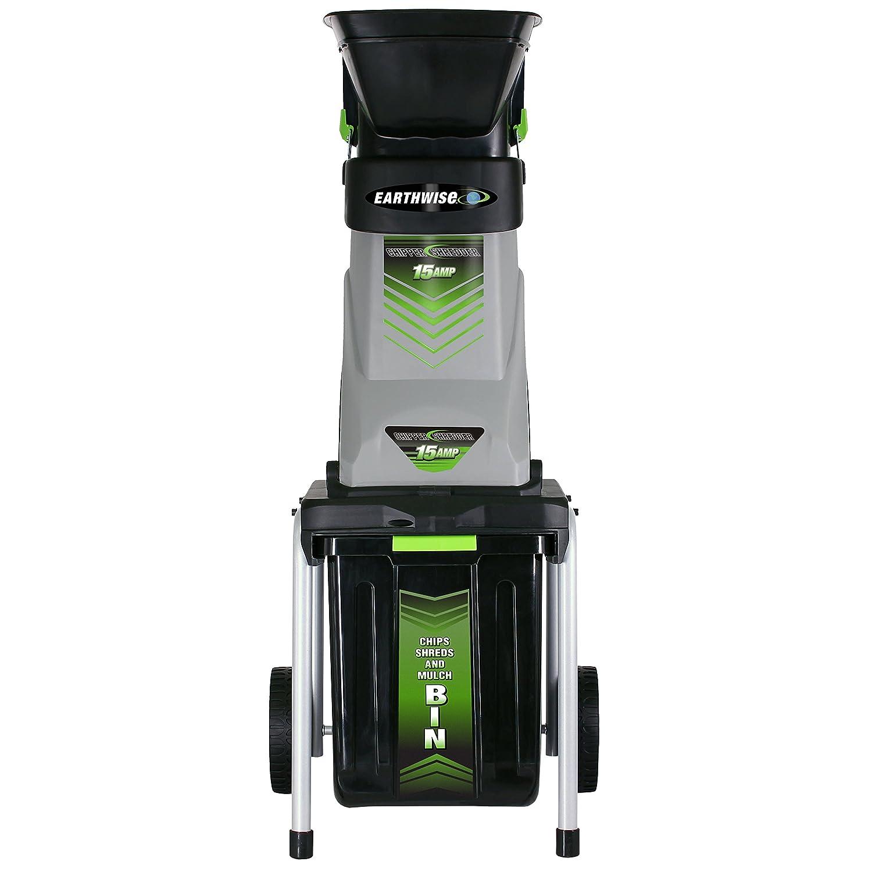 Amazon.com: Trituradora y astilladora eléctrica de 15 ...