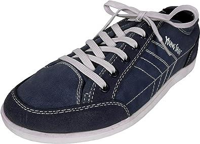 Young Spirit Herren Sneaker, Denim Blau, leger, Schnürschuh