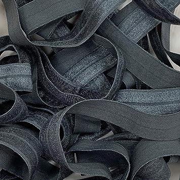 Fold Over Elastic 16mm Wide for Nappies Headbands Tutu /& Crafts 0.5 Metre Black