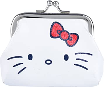 Porta Moedas Pu Hello Kitty Classic Face Urban Branco