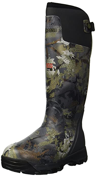 897ceb286126 Lacrosse Men s Alphaburly Pro 18 quot  800G Knee High Boot, Optifade Timber,  ...