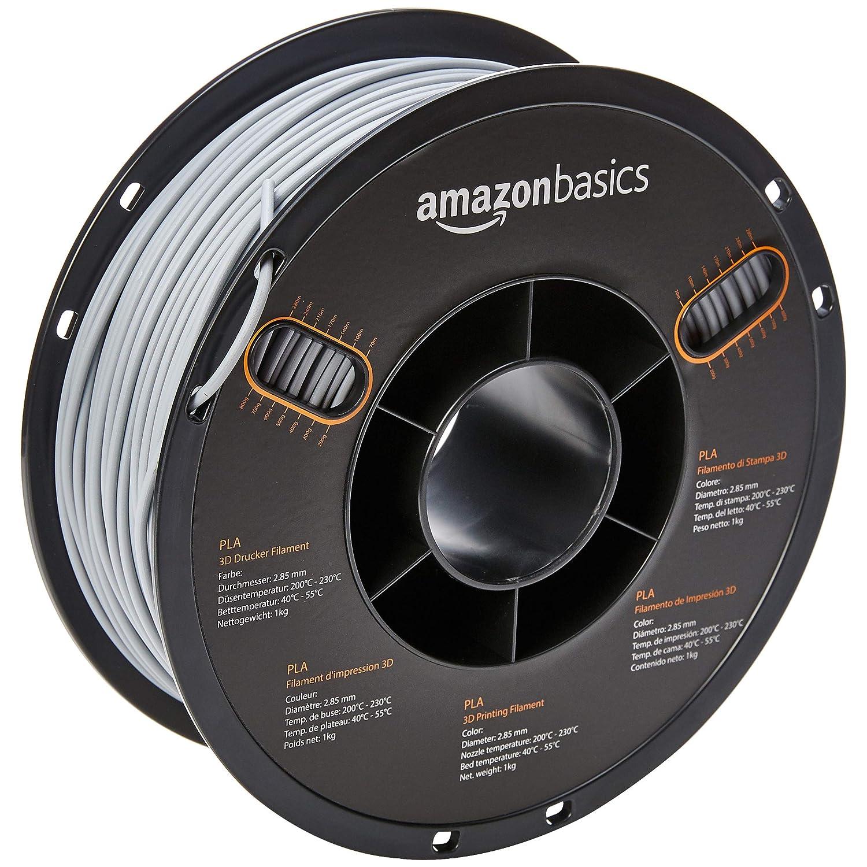 AmazonBasics – Filamento de PLA para impresora 3D, 2,85 mm, Gris ...